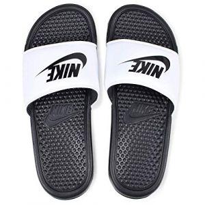 Nike Benassi JDI, Chaussures de Fitness garçon, Blanc