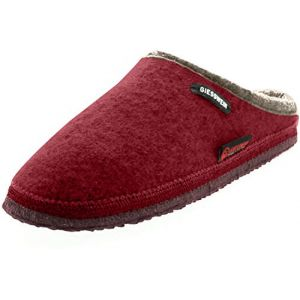 Giesswein Chaussons DANNHEIM rouge pour Femme taille : 36, 37, 40