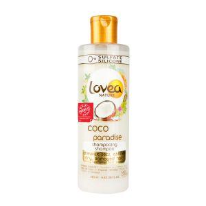 Lovea Nature Coco Paradise Shampooing cheveux secs, abîmés
