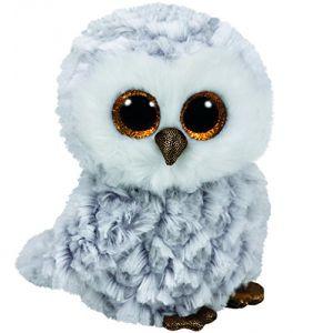 Ty TY37201 - Beanie Boo's - Peluche Owlette Hibou 15 cm