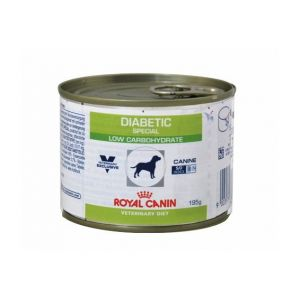 Royal Canin Boîtes Veterinary Diet Chien Diabetic Special Low Carbohydrate Contenance : 12 boites de 195 g