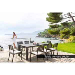 Hesperide Figari - Table de jardin 8 places