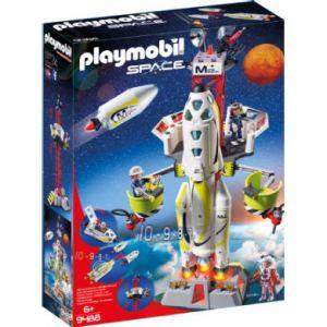 Playmobil Space 9488 - Fusée Mars et plateforme