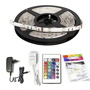 X4-life Ruban LED (Set complet) avec connecteur mâle 701085 12 V 500 cm RVB 1 pc(s)