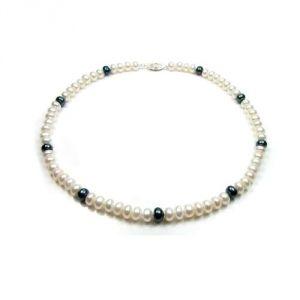 Blue Pearls Bps 0201 Y- Collier en perles de culture pour femme