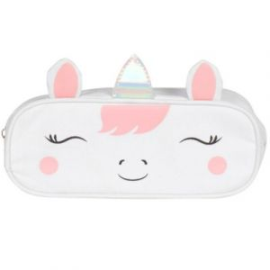 Sass & Belle Betty The Rainbow Unicorn Pencil Case Holographic School Girl Cute Stationery