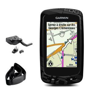 Garmin Edge 810 HRM + CAD - GPS vélo avec accessoires