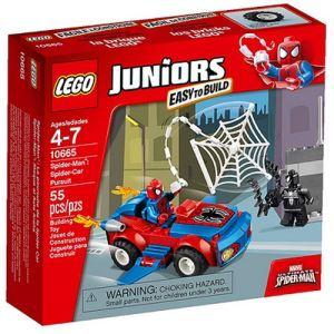 Lego 10665 - Juniors : Spider-Man - La poursuite de la Spider Car