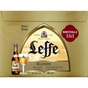 Leffe Blonde - Le pack de 20x33cl