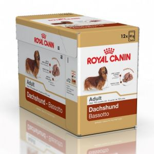Royal Canin Breed Dachshund pour chien 12x 85 g