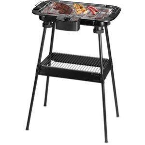 Techwood TBQ-807P - Barbecue grill électrique sur pieds