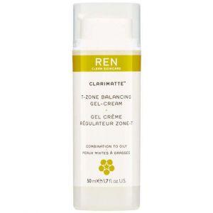 REN Clarimatte' Gel Crème Régulateur Zone-T 50ml