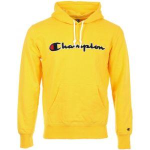 "Champion Sweat-shirt Hooded Sweatshirt ""Lemon Chrome"" jaune - Taille EU L"