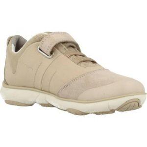 Geox J Nebula A, Sneakers Basses Fille, Beige (Beigec5000), 29 EU
