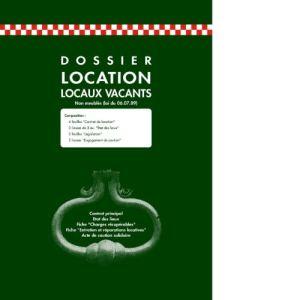 Exacompta Dossier location pour locaux vacants (220 x 320 mm)
