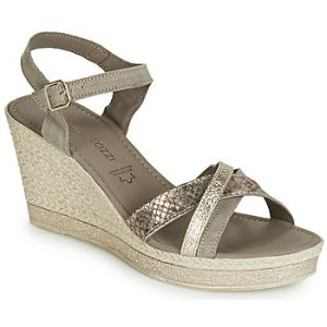 Marco Tozzi Sandales TOURILE - Beige - Taille 36,37,38,39,40,41