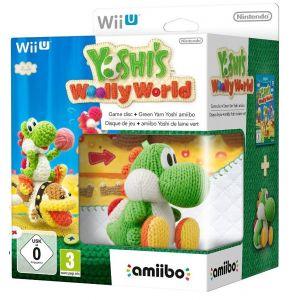 Yoshi's Woolly World + Amiibo Yoshi [Wii U]