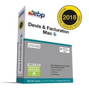 Devis et Facturation Mac 2018 [Windows]