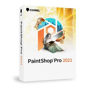 PaintShop Pro 2021 Mini Box - 1 utilisateur - Version mini boîte [Windows]
