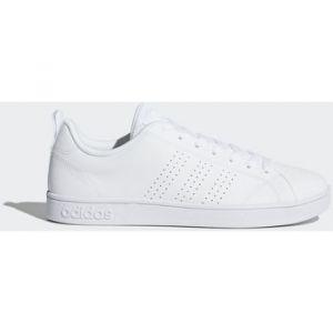 Adidas Advantage Clean Vs, Chaussures de Gymnastique Homme, Blanc Cassé (FTWR White/FTWR White/FTWR White FTWR White/FTWR White/FTWR White), 46 2/3 EU