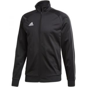 Adidas Core 18 Polyester Jacket Veste de Survêtement Homme, Noir/Blanc, FR : XL (Taille Fabricant : XL)