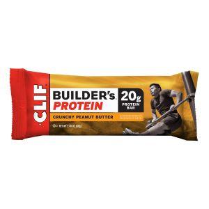 CLIF Bar Builder's Protein Bar Sacoche 12x68g, Chocolate Peanut Butter Kits & Packs nutrition