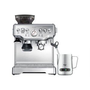Sage SES875BSS2EEU1A The Barista Express - Machine à café automatique avec buse vapeur Cappuccino - inox brossé