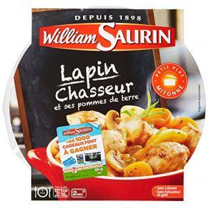 William Saurin Lapin chasseur et ses pommes de terre - La barquette de 280g