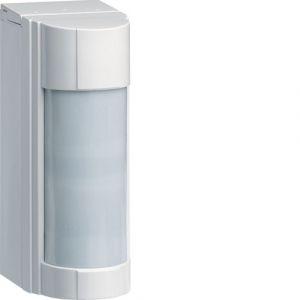 Hager RLA144X Détecteur de mouvement Extérieur Antimasque IP 55 Sepio pile lithium fournie