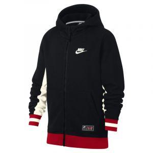 Nike Sweat à capuche entièrement zippé Air pour Garçon plus âgé - Noir - Couleur Noir - Taille S