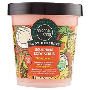 Organic Shop Tropical mix - Gommage sculptant pour le corps