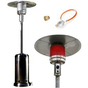 Empasa Parasol Chauffant au gaz CLASSIC LIGHT Noir
