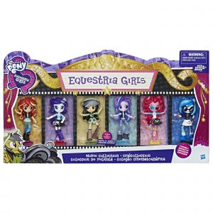 Hasbro My Little Pony Equestria Girls - Pack collection 6 poupées
