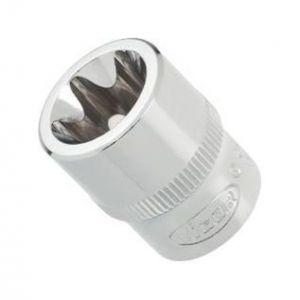 Vigor Carré femelle entraînement 10 = 3/8 Douille TORX® pour profil TORX® extérieur V27288 L.28 mm