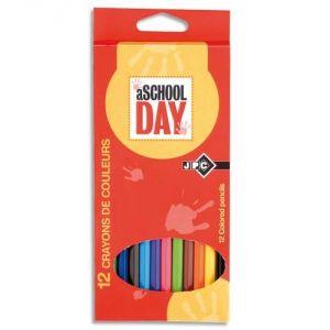 Giotto 12 Crayons de couleur assorties
