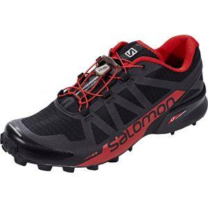 Salomon Speedcross Pro 2, Chaussures de Trail Homme, Noir (Black/Barbados Cherry/Black 000), 44 2/3 EU
