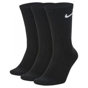 Nike Chaussettes de training mi-mollet légères Everyday pour Homme (3 paires) - Noir - Taille M - Homme