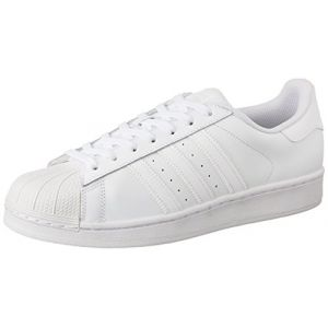 Adidas Superstar, Baskets Basses Homme, Blanc (FTWR White/FTWR White/FTWR White), 46 EU
