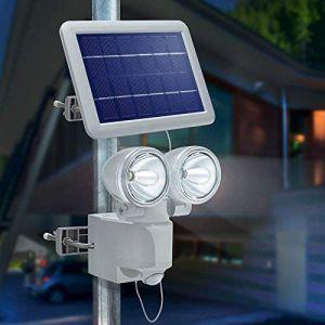 Esotec Projecteur solaire détection de mouvement DUO Power II