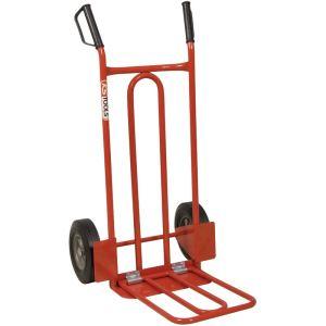 KS Tools 160.0229 - Diable à roues pleines et tablette pivotante 250 Kg