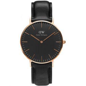 Daniel Wellington DW00100139 - Montre pour homme avec bracelet en cuir