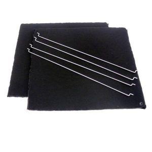 De Dietrich 58601 - Lot de 2 filtres charbon lavables pour hotte
