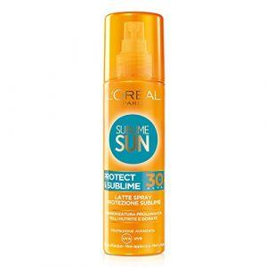 L'Oréal Sublime sun latte solare spray SPF 30 200 ml