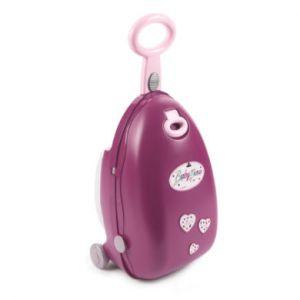 Smoby Valise pour poupée Baby Nurse violet rose/rose vif