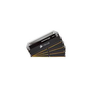 Corsair CMD32GX4M4B2400C10 - Barrette mémoire Dominator Platinum 32 Go (4x 8 Go) DDR4 2400 MHz CL10