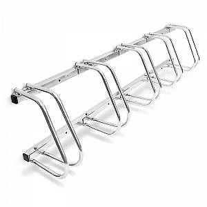 Système range vélo râtelier inclinable 5 vélos garage pratique - HELLOSHOP26