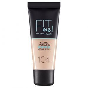 Maybelline Fit Me Matte & Poreless Foundation - Soft Ivory 30 ml