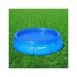 Bestway 58061 - Bâche à bulles Ø 250 cm pour piscine autoportante ronde Ø 305 cm