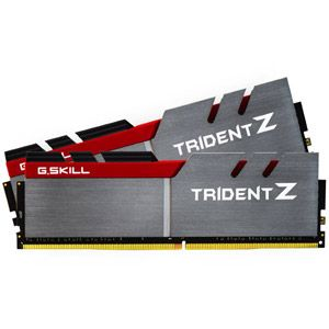 G.Skill Trident Z 32 Go (2x 16 Go) DDR4 3400 MHz CL16 Gris / Rouge