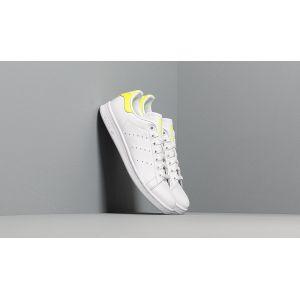 Adidas Stan Smith, Chaussures de Gymnastique Homme, Blanc Solar Yellow/FTWR White, 44 2/3 EU